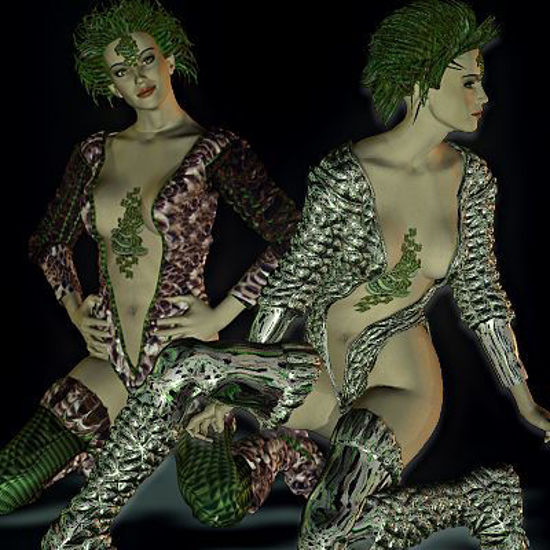 Picture of Giselle suit for DAZ's Vikki