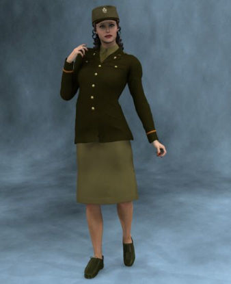 Picture of 40's US Army officer - v2