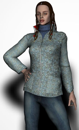 Picture of Coat with polo neck for Victoria 2