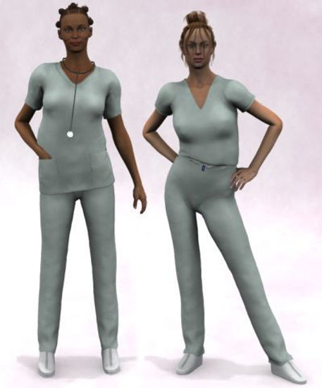 Picture of Scrubs for V1 and 2