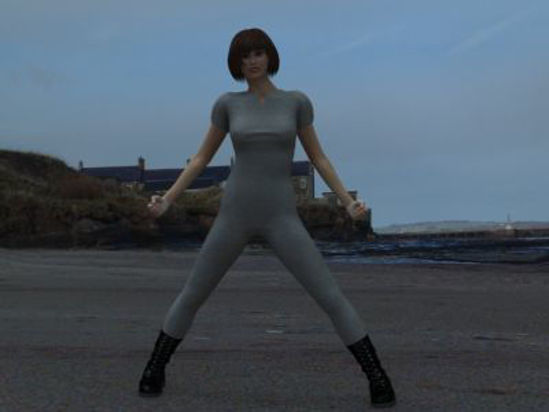 Picture of Catsuit - withboots