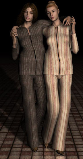 Picture of Flared suit for Vicky 3