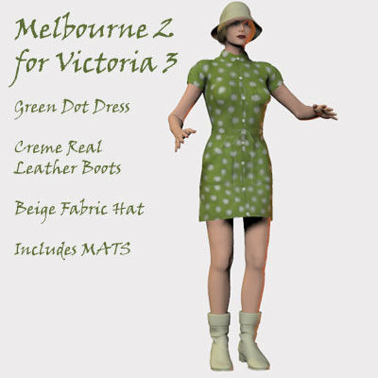 Picture of Melbourne 2 Dress Texture