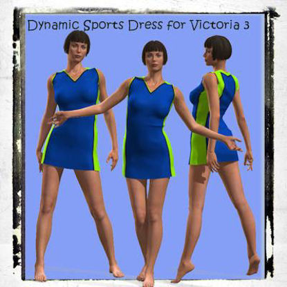 Picture of Dynamic sports dress for Victoria 3