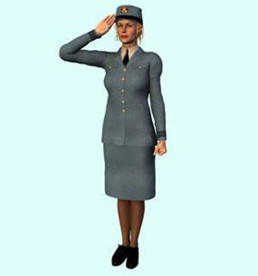 Picture of WRAF uniform for Vicky 3
