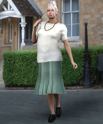Picture of Mature style clothing for Vicky 3