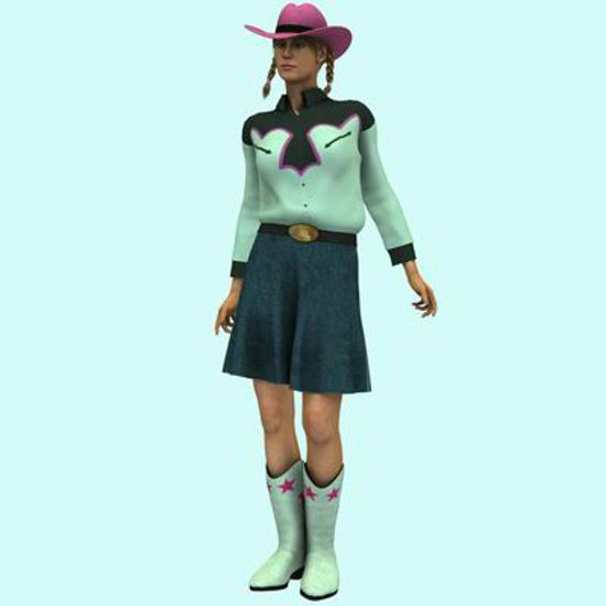 Picture of CowGirl set - A3