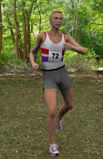 Picture of Male running kit for Vicky3