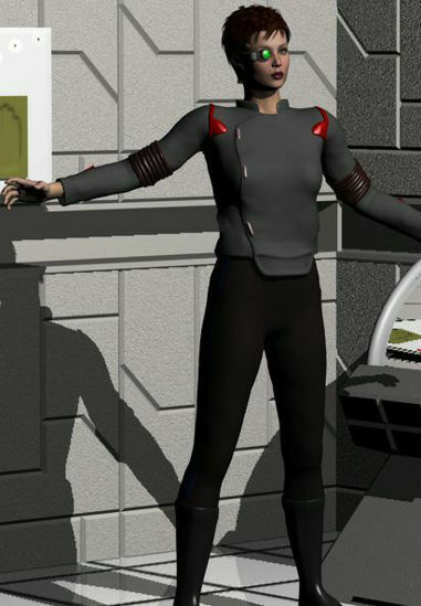 Picture of SciFi officer