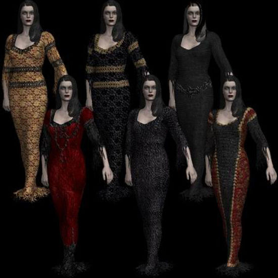Picture of Classic horror dress-Dynamic