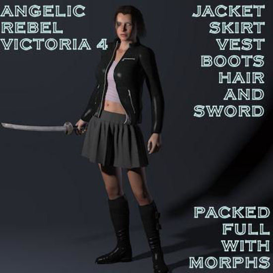 Picture of Angelic Rebel for Victoria 4 - SSword