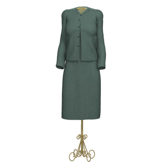 Picture of Tailor's Dress Stand for Victoria 4 Clothing