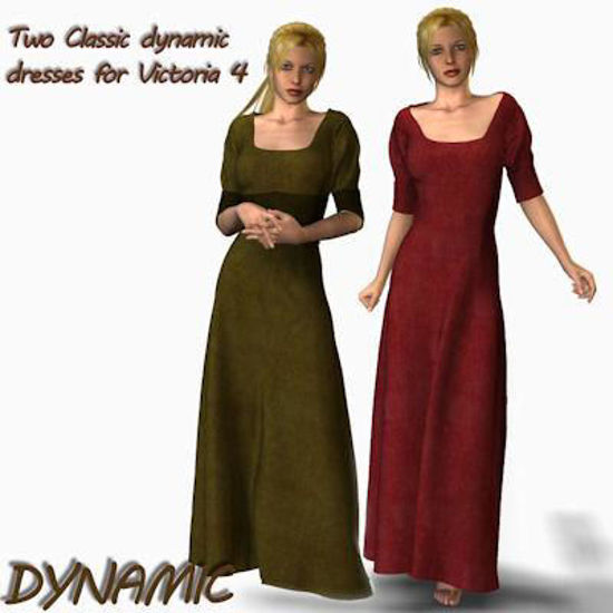Picture of Classic dynamic dresses for Victoria 4