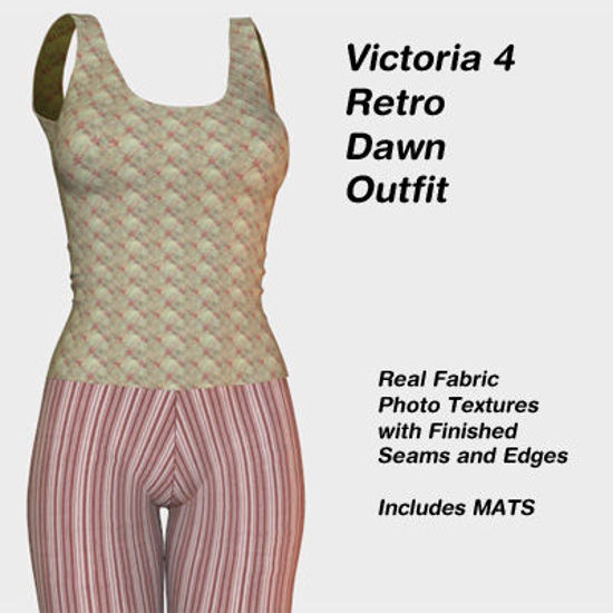 Picture of Victoria 4 Retro Dawn Outfit