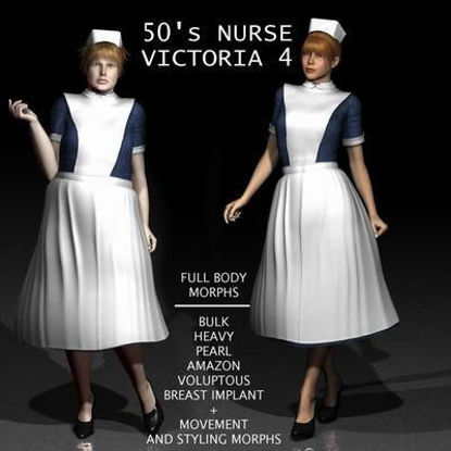 Picture of 50s Style Nurse for Victoria 4