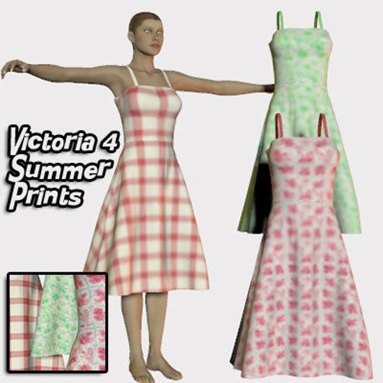 Picture of Summer Dress Prints for Victoria 4