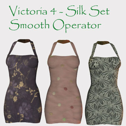 Picture of Victoria 4 Silk Set Textures