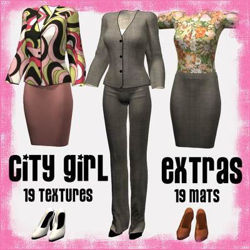 City Girl Extras for Victoria 4 City Girl - 1