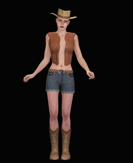 Picture of Sassy Cowgirl Outfit for Victoria 4
