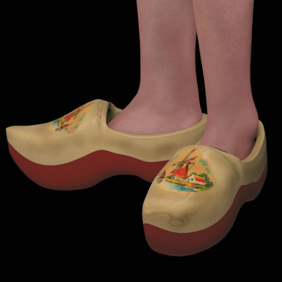 Picture of Dutch Clogs for DAZ Victoria 4