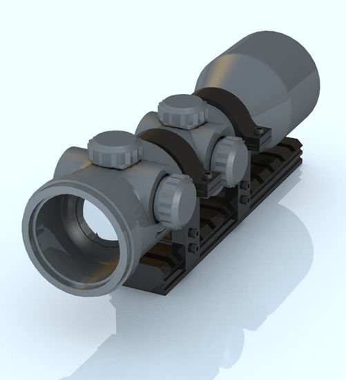Picture of Modular Weapon Scope - Poser and DAZ Studio Format
