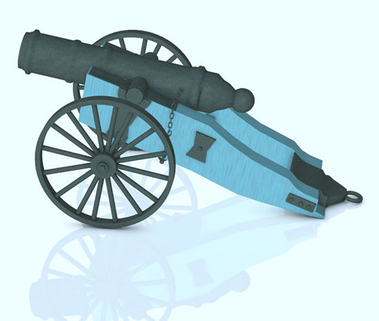 Picture of 1800's Black Powder Field Cannon