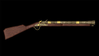 Picture of 1790 English Black Powder Blunderbuss Rifle