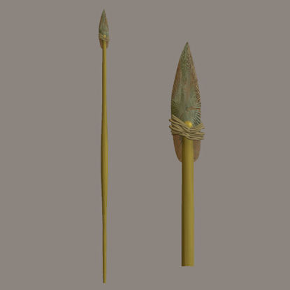 Picture of Primitive Spear Weapon Prop