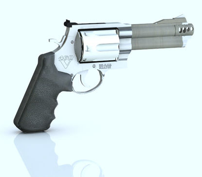 Picture of 357 Magnum Pistol Model with Movements