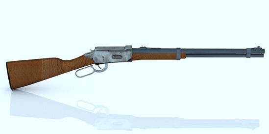 Picture of Winchester 30-30 Rifle Model with Movements
