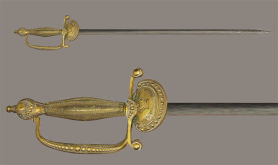 Picture of Nobleman's Sword Weapon Model