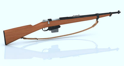 Picture of Japanese WWII Infantry Rifle Weapon Model - REMAPPED -1