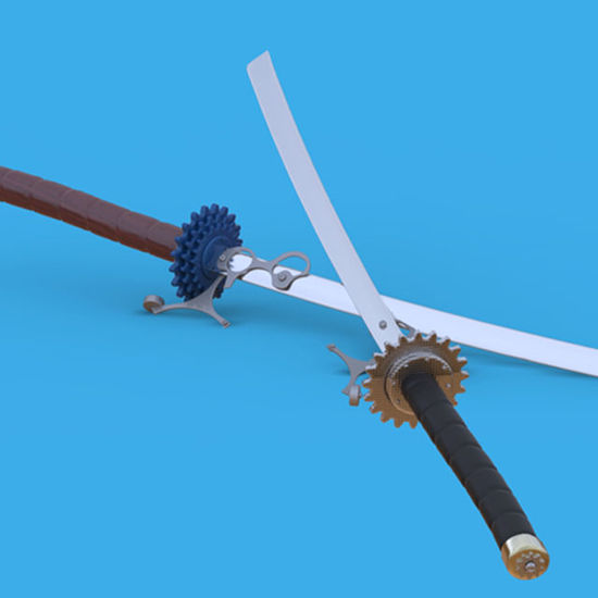 Picture of Steampunk Sword Model