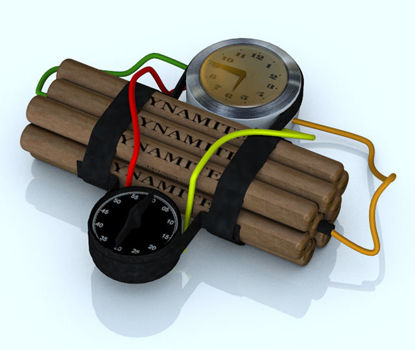 Picture of Time Bomb Model with Movements