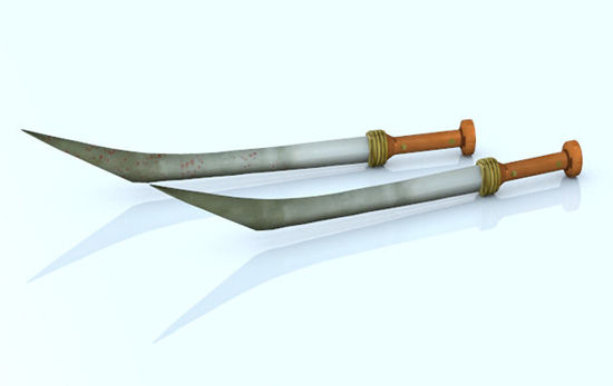Picture of Gladiator Sica Sword Re-Mapped