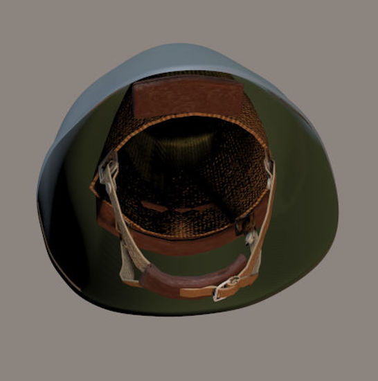 Picture of M1956 East German Eggshell Helmet Prop