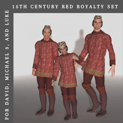 15th Century Red Royalty