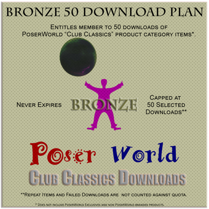 Bronze Club Classics Membership - 50 Selection Download Plan